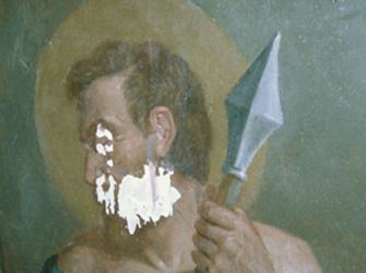 restauration de peinture murale